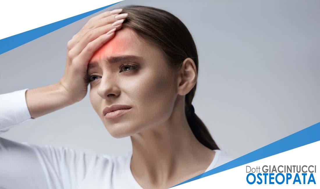 cefalea osteopatia Nicola Giacintucci osteopata
