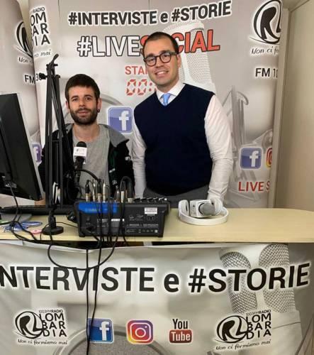 immagine intervista radio lombardia