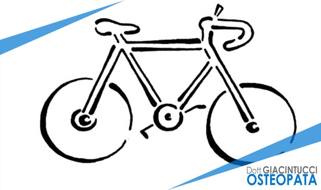 bicicletta e mal di schiena Giacintucci osteopata